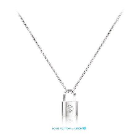 lock necklace louis vuitton - Google Search