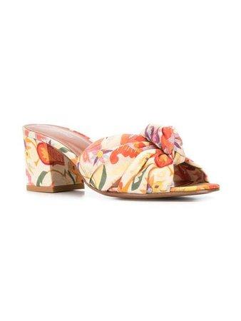Etro floral open-toe sandals