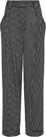 Missoni Striped Cotton-Blend Straight-Leg Pants