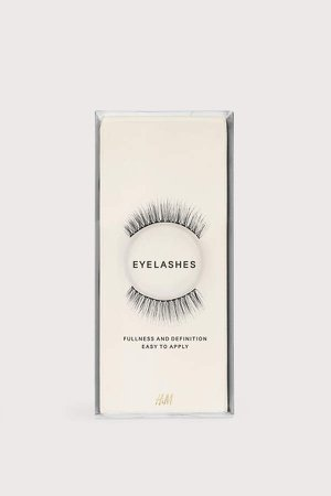 False Eyelashes - Black
