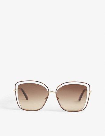 CHLOE - CE133S cat-eye-frame sunglasses | Selfridges.com