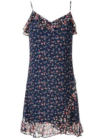 Michael Michael Kors Ruffled floral-print Dress - Farfetch