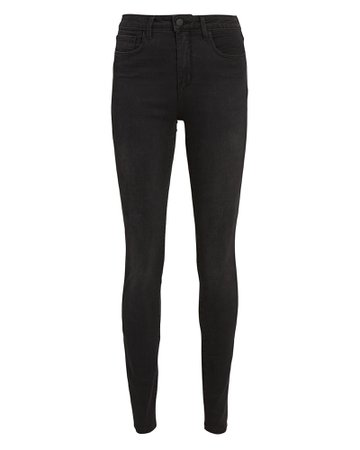 L'Agence Marguerite High-Rise Skinny Jeans | INTERMIX®