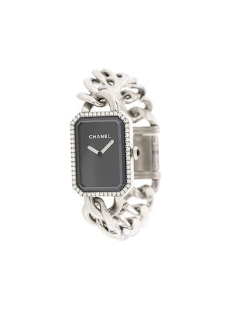 Chanel Pre-Owned 2010s pre-owned Première Chain Wrist Watch - Farfetch