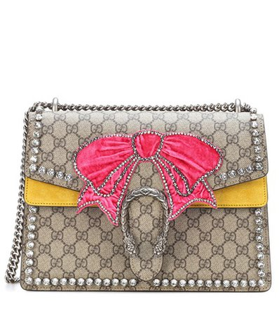 Dionysus GG Supreme Medium embellished shoulder bag