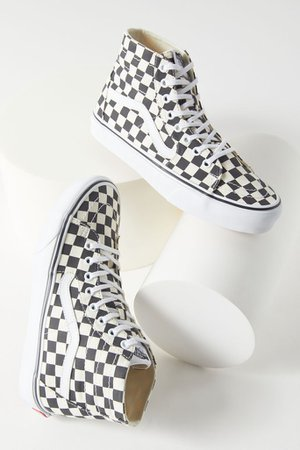 Vans Sk8-Hi Tapered Checkerboard Sneaker | Urban Outfitters