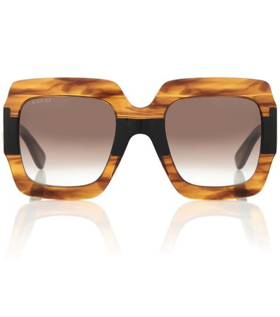 Square Acetate Sunglasses | Gucci - Mytheresa