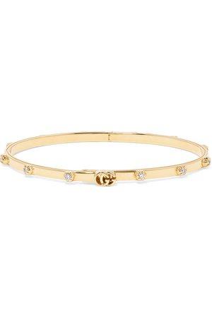Gucci | 18-karat gold diamond bracelet | NET-A-PORTER.COM