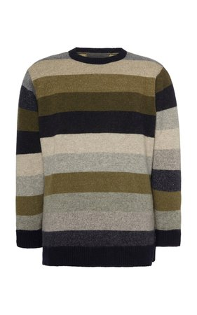 Super Duper Striped Cashmere Sweater by The Elder Statesman | Moda Operandi