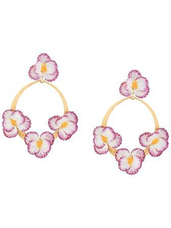 Jennifer Behr Voleta floral earrings
