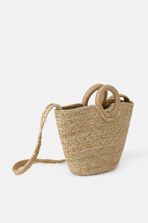 NATURAL JUTE TOTE BAG - Natural bags-BAGS-WOMAN | ZARA United States