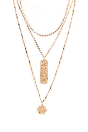 Three For You Layered Necklace - Gold – Fashion Nova