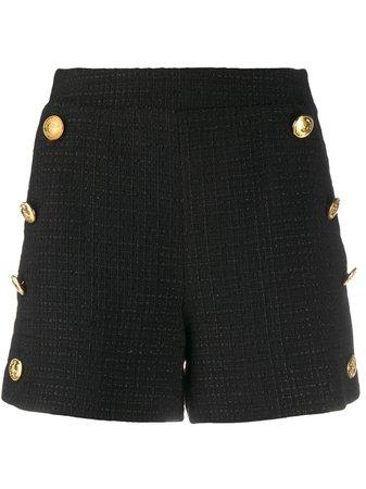 Boutique Moschino Pantalones Cortos De Talle Alto - Farfetch
