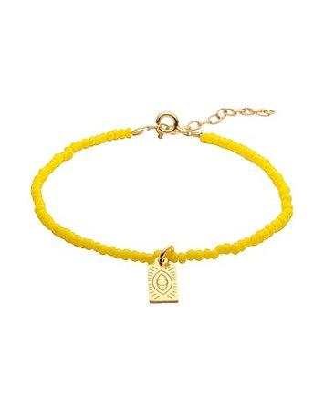 Hermına Athens Crystal Hermına Tag - Bracelet - Women Hermına Athens Bracelets online on YOOX Turkey - 50239755EK