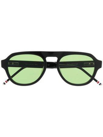 Thom Browne Eyewear aviator shaped sunglasses