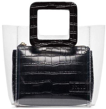 Staud Shirley mini leather tote bag