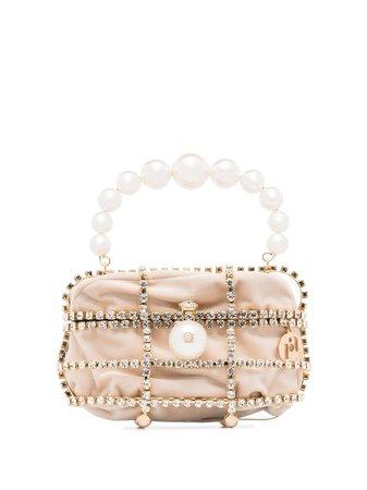 Rosantica Ducas Embellished Cage Box Bag - Farfetch