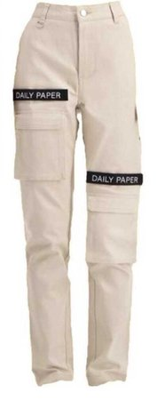 Daily Paper Cargo Pants Beige
