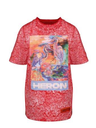 HERON PRESTON Heron Oversize T-shirt