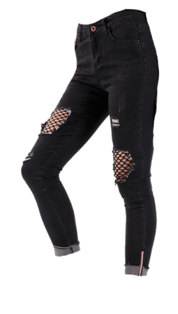 black png jeans