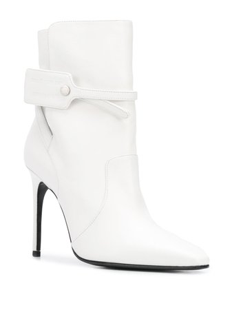 Off-White security-tag Ankle Boots - Farfetch