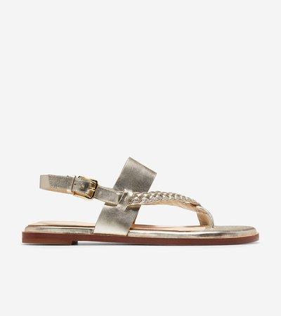 Anica Braided Thong Sandal