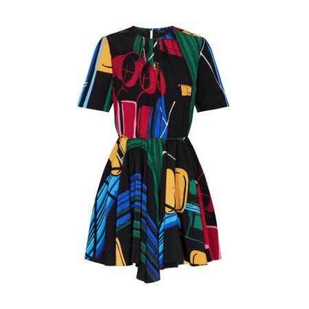 Printed Dress - Ready-to-Wear | LOUIS VUITTON ®
