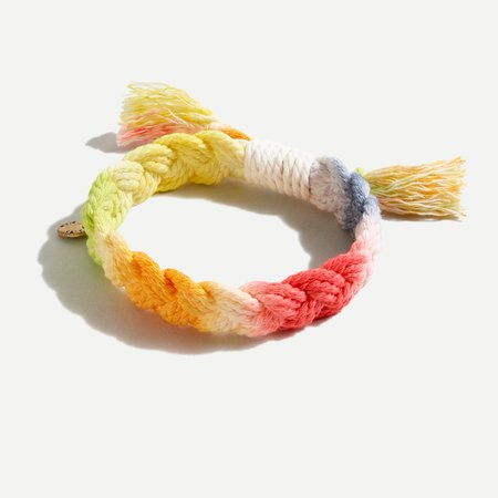 J.Crew: Braided Cord Bracelet For Women