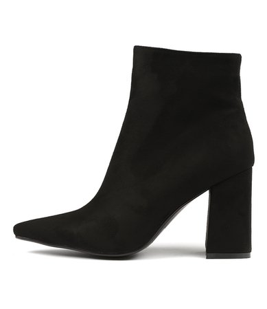 THERAPY Alloy Black Microsuede