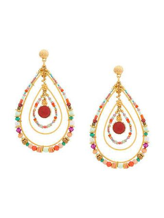 Gas Bijoux Aurore Drop Earrings - Farfetch