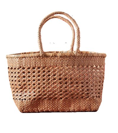 Anthropologie Max Woven Tote Bag