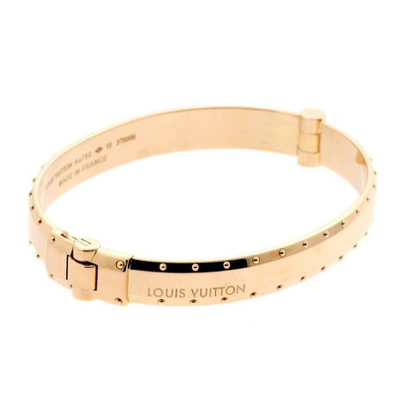 Louis Vuitton Emprise Rose Gold Bangle Bracelet at 1stDibs