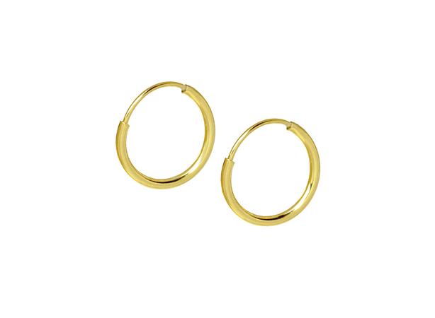 Anny Gabriella NY small gold hoop earrings