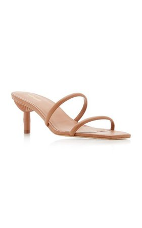 Sol Leather Sandals By Cult Gaia