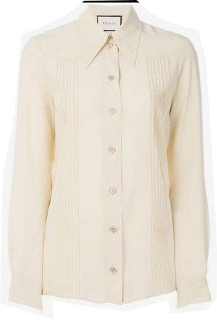Gucci collar shirt (ss18) $1200