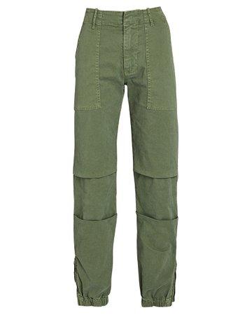 Nili Lotan Cropped French Military Pants | INTERMIX®