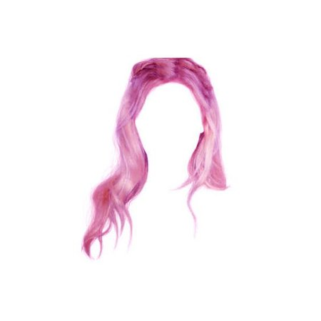 pink hair png doll