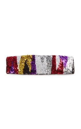 Missoni Mare Ricamo Paillettes-Embroidered Headband