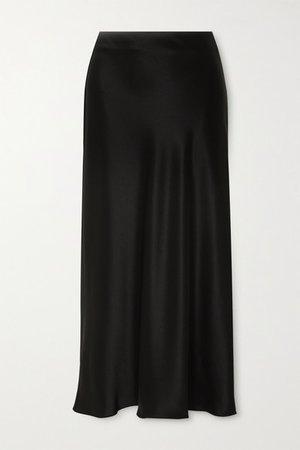 Matteau | Satin midi skirt | NET-A-PORTER.COM