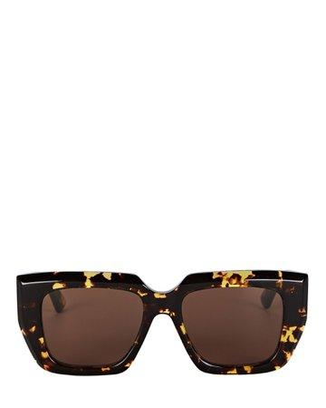 Bottega Veneta Square Sunglasses | INTERMIX®