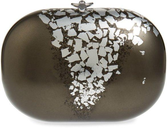Elina Precious Metals Clutch