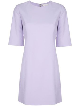 Purple Alice+Olivia Coley Short Dress | Farfetch.com