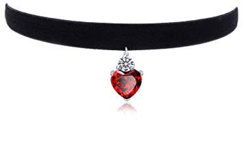 red and black choker - Google Search