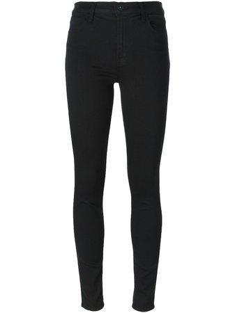J Brand 'Maria' high-rise Skinny Jeans - Farfetch