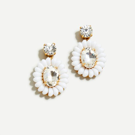 J.Crew: Resin-beaded Statement Earrings For Women