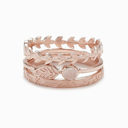 Meadow Ring Stack | Pura Vida Bracelets