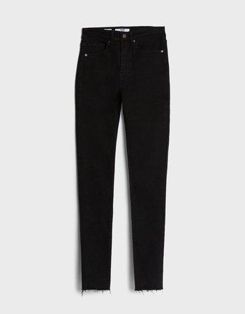 Skinny high waist jeans - Jeans - Woman   Bershka