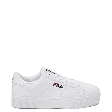 Womens Fila Disruptor 2 Premium Script Athletic Shoe   Journeys