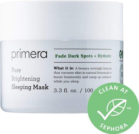 Primera - Pure Brightening Sleeping Mask