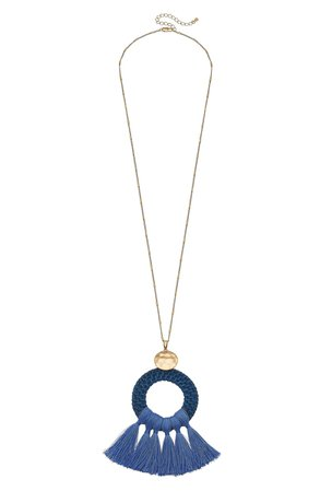 Canvas Jewelry Monroe Statement Pendant Necklace | Nordstrom